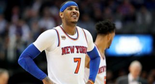 Carmelo Anthony not concerned with trade talks
