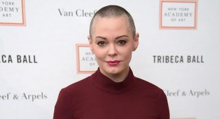 'Charmed' Actress Rose Mcgowan turns self in over drug possession warrant