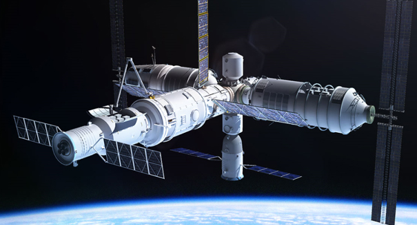 Chinese space station is falling back to Earth