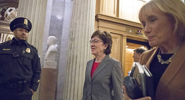 Sen. Susan Collins could be key swing vote on tax bill