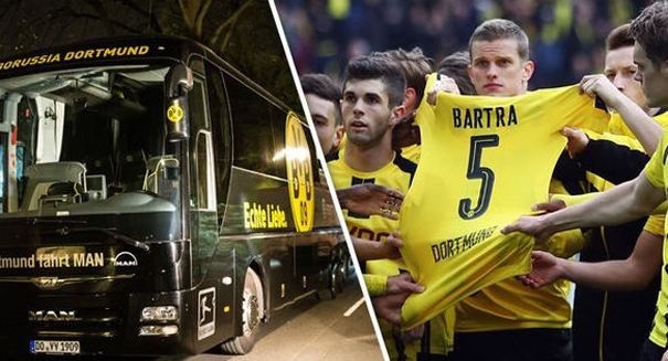 Borussia Dortmund attacker hoped to profit from the carnage