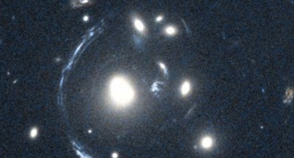 Astronomers observe ancient merger of two huge galaxies