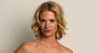 January Jones opens up about being a single mom