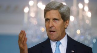 Democrats and Republicans lukewarm on Kerry speech