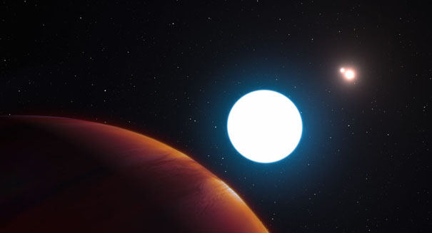 Massive 'planet' might actually be a star