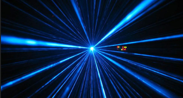 Physicists tied knots in a laser beam to study 'holes' in light