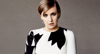 Lena Dunham says Beckham looked at her like a dog