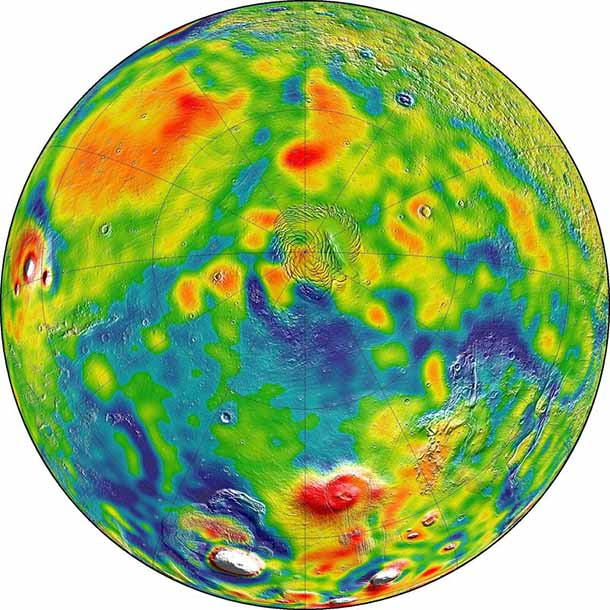 Ancient Mars could have been cold and still had flowing liquid water