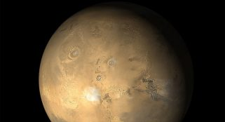 Mars' crust found to be less dense than previously thought