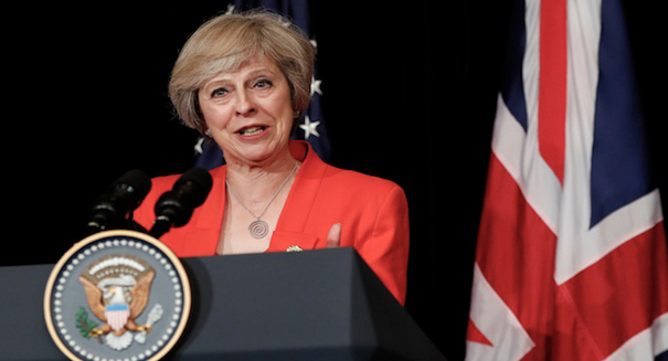 Theresa May assures EU of British commitment to free trade