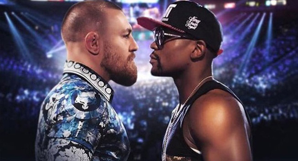Floyd Mayweather boxing Conor McGregor moves from insane possibility to tentative exploration
