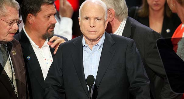 McCain a 'no' on current GOP healthcare bill