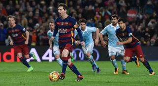 Lionel Messi causes uproar with trick penalty kick