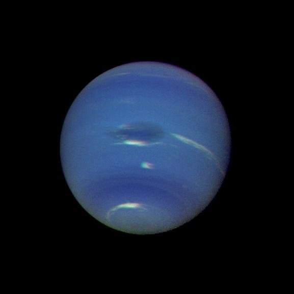 Earth-sized storm discovered on Neptune