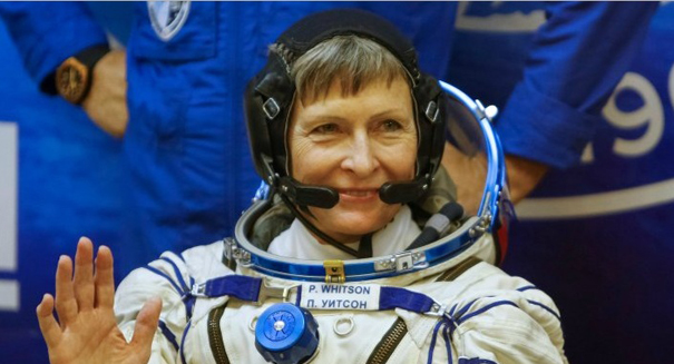 Peggy Whitson becomes oldest woman to space travel