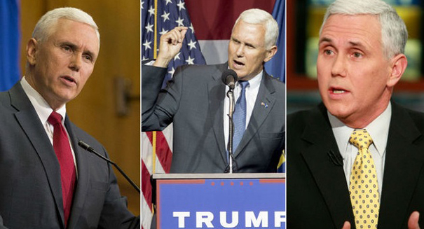VP Pence backs Trump's