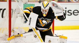 Penguins win third consecutive game, beat Devils 2-0