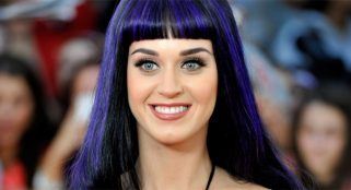 Katy Perry gets political at Brit Awards