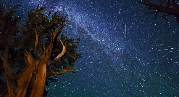 Perseid meteor shower is now under way