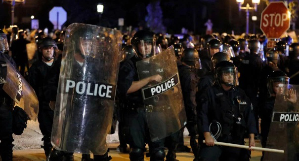 Hundreds of people protest acquittal of St. Louis officer in killing of black driver