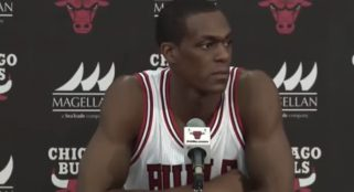 Rondo returns fire at D Wade