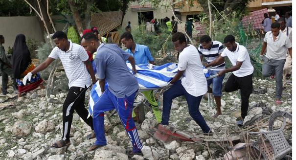 Restaurant siege in Somali kills 31 people