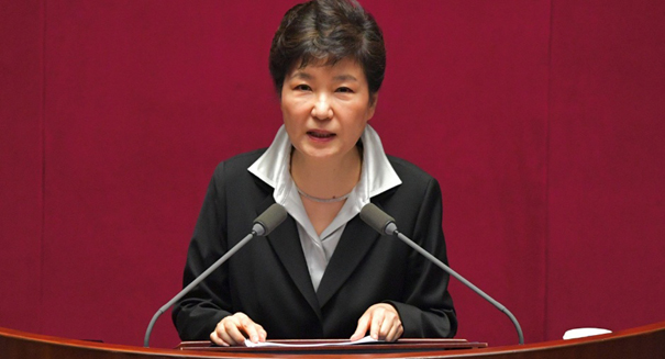 Embattled former South Korean president arraigned in court