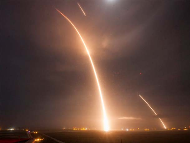 SpaceX successfully completes Falcon 9 launch, booster landing