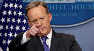Sean Spicer has not asked Trump about Russia meddling in 2016 election