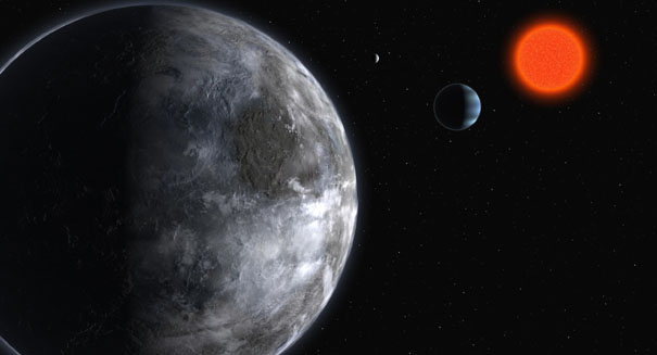 Huge planet orbiting tiny star challenges formation theory