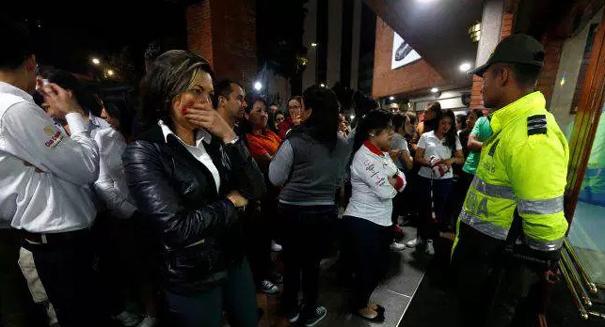 Explosive device detonates in Colombia shopping center, killing three