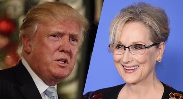 Meryl Streep attacks Trump at Golden Globe ceremony