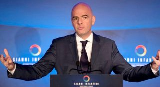 Three at the fore as FIFA presidential election begins