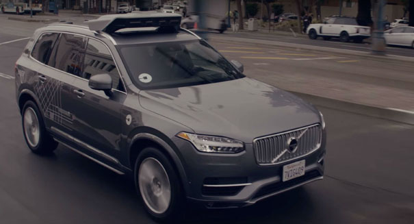 Uber will buy up to 24,000 Volvos for its self-driving vehicle fleet