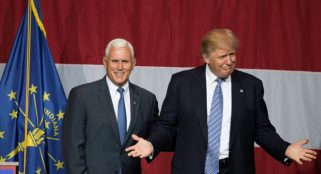 Pence says that Trump will surprise many