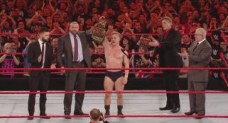 WWE crown their first ever UK champion, a 19-year-old